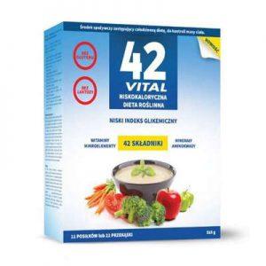 42 Vital Low calorie vegetable diet 510 g