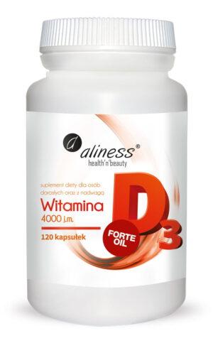 Vitamin D3 FORTE oil 4000 IU 120 capsules
