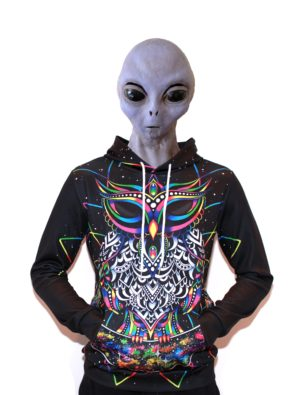 Blouse - Psychedelic Owl
