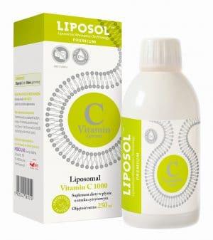 Liposol C 1000TM Liposomal Vitamin C 1000 (Buffered) 250 ml Lemon flavor