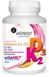 Vitamin K2 MK-7 100 µg with Natto + D3